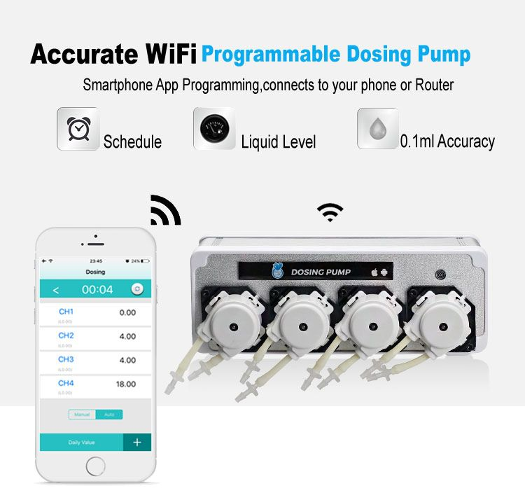 Coralbox WiFi Doserings Pump