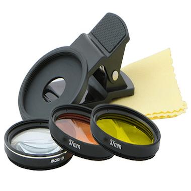 Coral Colour Lens